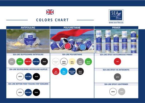 COLORS CHART paint Sea-Line