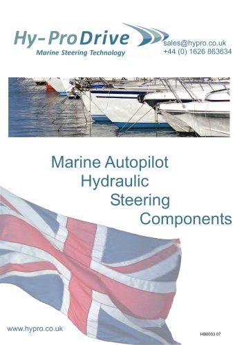 Hy-ProDrive Marine Autopilot Hydraulic Steering Components