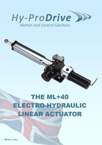 ML+40 Hydraulic Linear Actuator