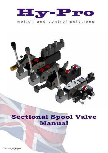 Sectional Spool Valve Manual