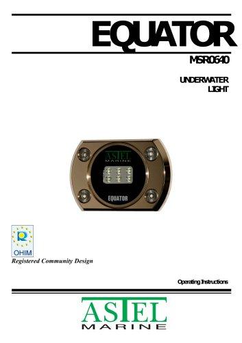 EQUATOR MSR0640