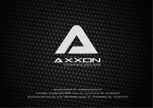 Axxon factory presentation