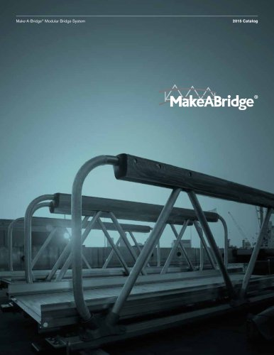 Make-A-Bridge® Modular Bridge System by MAADI Group