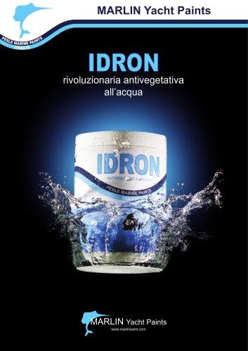 IDRON rivoluzionaria antivegetativa all'acqua