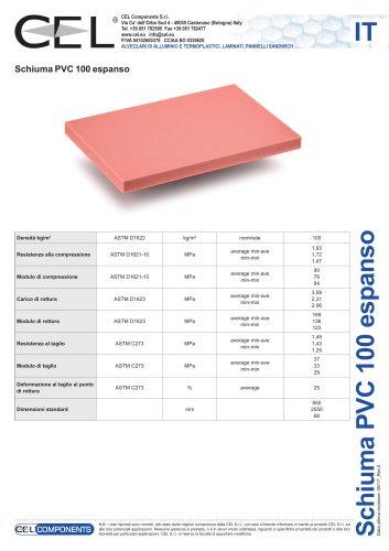 Schiuma in PVC 100