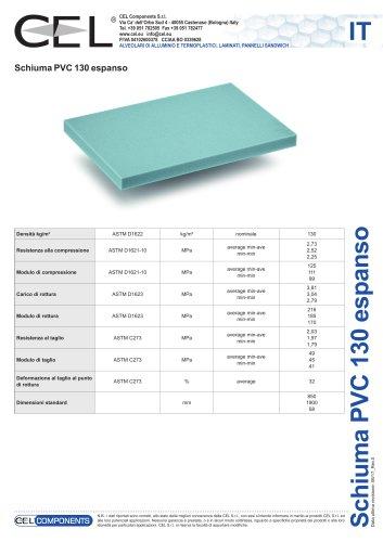 Schiuma in PVC 130
