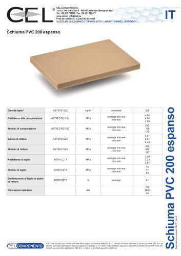 Schiuma in PVC 200