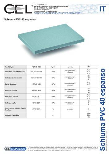 Schiuma in PVC 40