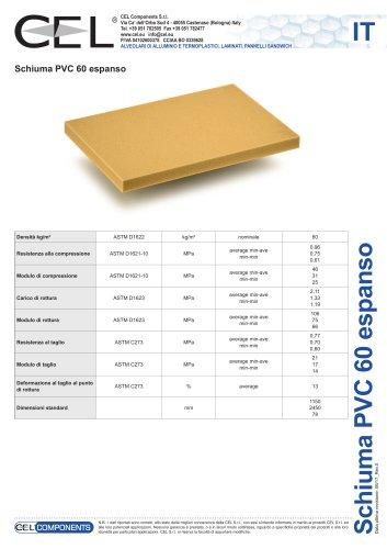Schiuma in PVC 60