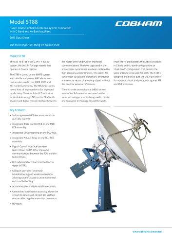 Sea Tel ST88 Satellite TV