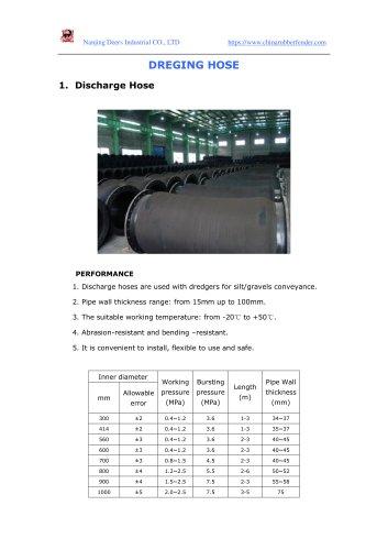dredging hose catalogue