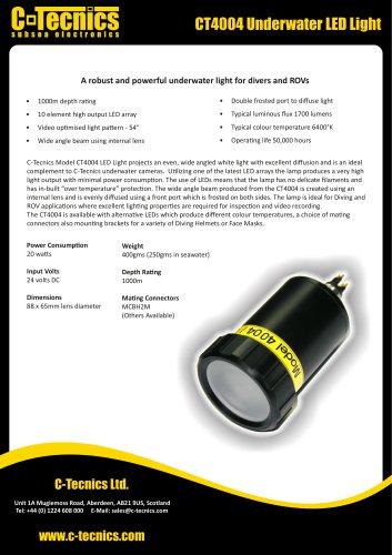 CT4004 LED Light