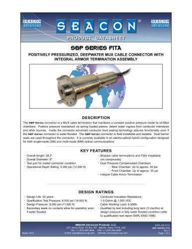 SAPL-DS-0113 SBP Series FITA Rev 3