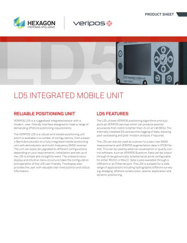 LD5 Integrated Mobile Unit