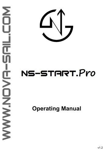 NS-START.Pro operating manual