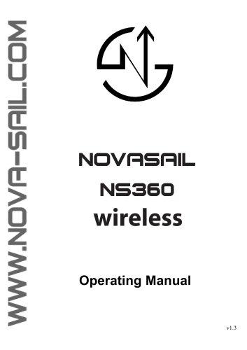 NS360 Wireless operating manual