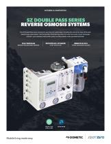 SZ DOUBLE PASS Freshwater Purification Reverse Osmosis