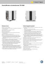 Deumidificatore ad adsorbimento TTR 2000