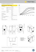 Deumidificatore ad adsorbimento TTR 3700 - 2