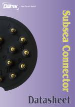 DWTEK Subsea Connector Datasheet