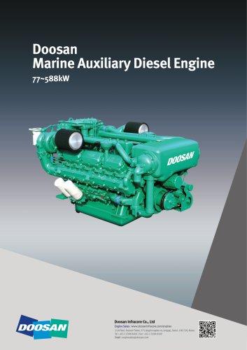 Doosan Marine Auxiliary Diesel Engine