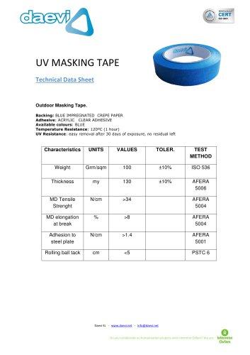 Masking Tape UV