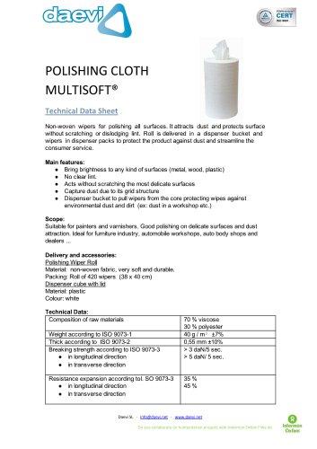 Multisoft polish cloth
