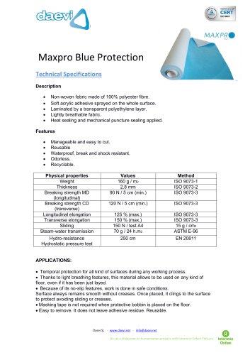 Temporary protection MAXPRO