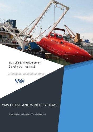 YMV Freefall Lifeboat Davit Brochure 2018