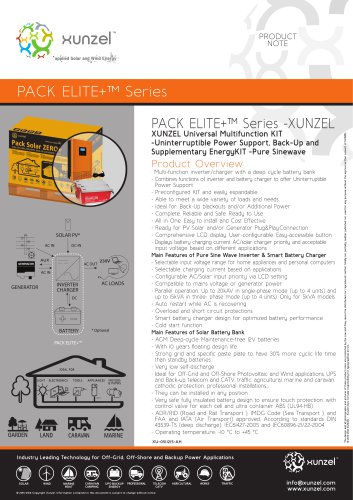 PACK ELITE+™ Series