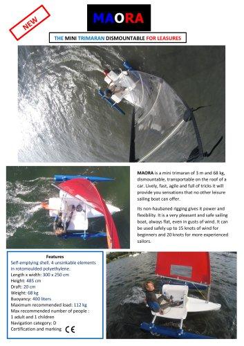 MAORA presentation sheet