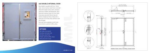 A60 Class Double Door