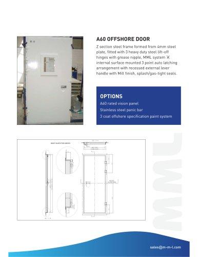 A60 Module Offshore Doors